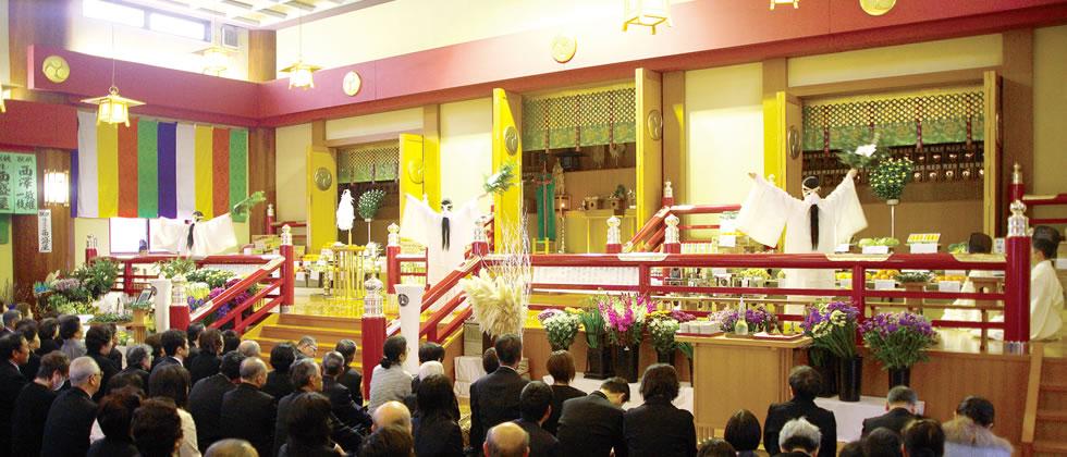 浄霊祭のイメージ