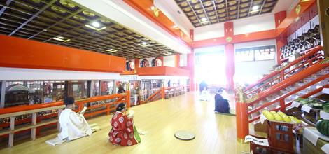 宝徳山稲荷大社の内観イメージ