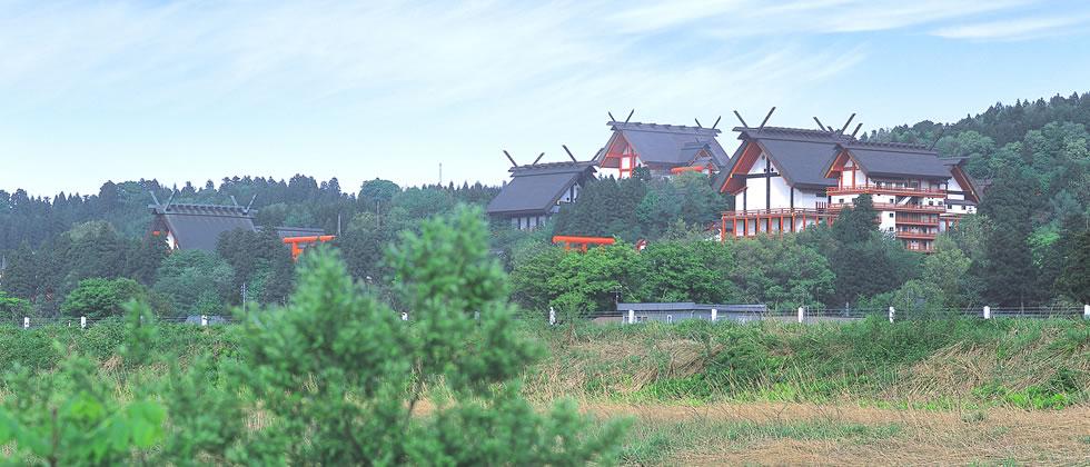 宝徳山稲荷大社の外観イメージ